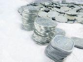pic of indian money  - Aluminium old coins - JPG