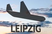 picture of leipzig  - Airplane icon  - JPG
