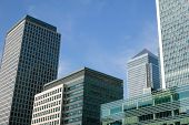 pic of hsbc  - Canary Wharf in Docklands is the largest business development in East London - JPG