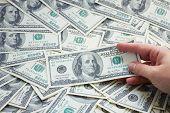 image of american money  - money  - JPG