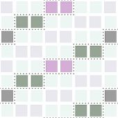 stock photo of partition  - Abstract seamless geometric pattern - JPG