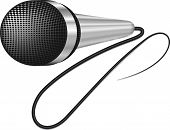 pic of microphone  - A realistic Image microphone - JPG