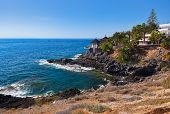 picture of canary  - Beach Las Americas in Tenerife island  - JPG