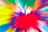 image of abstract painting  - Abstract multicolored background - JPG