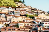 foto of albania  - Historic city of Berat in Albania - JPG