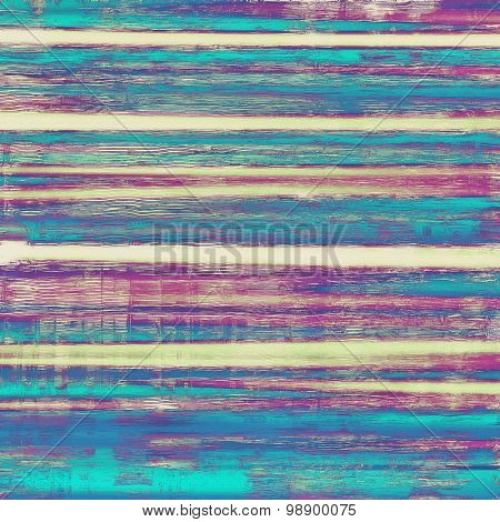 Grunge, vintage old background. With different color patterns: yellow (beige); purple (violet); blue; cyan