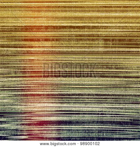 Old texture as abstract grunge background. With different color patterns: yellow (beige); brown; green; purple (violet)