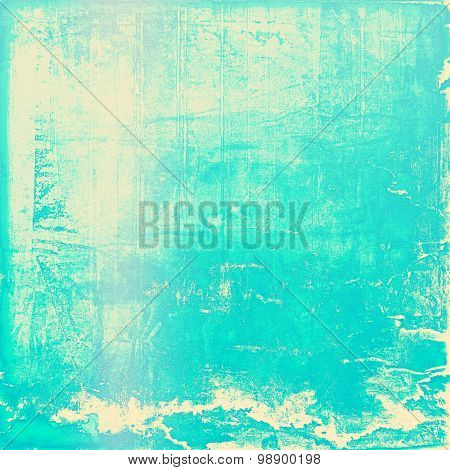 Old retro vintage texture. With different color patterns: yellow (beige); blue; cyan