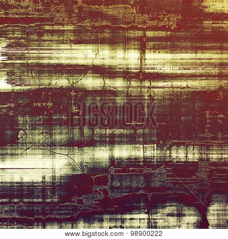 Grunge texture, may be used as retro-style background. With different color patterns: yellow (beige); brown; green; purple (violet)