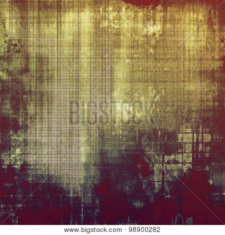 Old abstract grunge background, aged retro texture. With different color patterns: yellow (beige); brown; purple (violet); gray