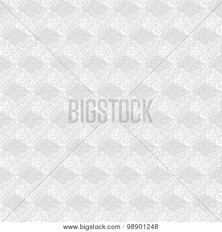 Geometric Seamless Background Of Cube In Polka Dot