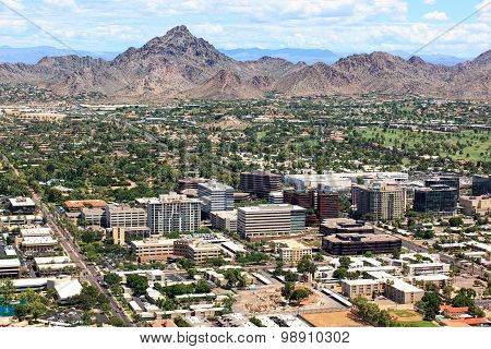 Office Buildings Near Piestewa Peak And Golf Course