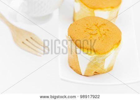 Flavor Soft Cake With Milk