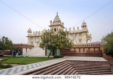 Jaswant Thada Mausoleum In Jodhpur