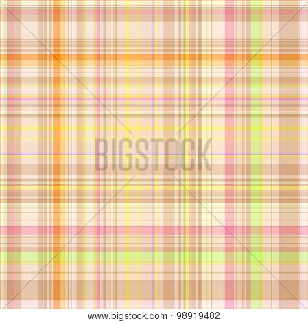 Seamless Colorful Gingham Pattern