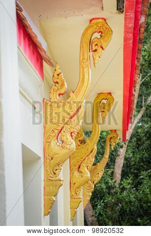 Thai Art In Corbel