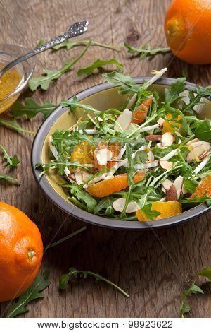 Arugula Salad With Mandarin Vinaigrette