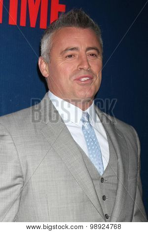 LOS ANGELES - AUG 10:  Matt LeBlanc at the CBS TCA Summer 2015 Party at the Pacific Design Center on August 10, 2015 in West Hollywood, CA