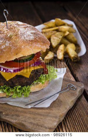 Fresh Made Ciabatta Burger