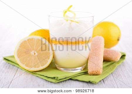 lemon tiramisu