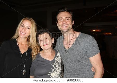 LOS ANGELES - AUG 15:  Rachel Marcus Goddard, Daniel Goddard, mother at the