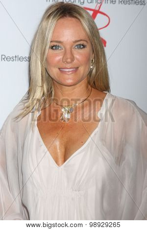 LOS ANGELES - AUG 15:  Sharon Case at the