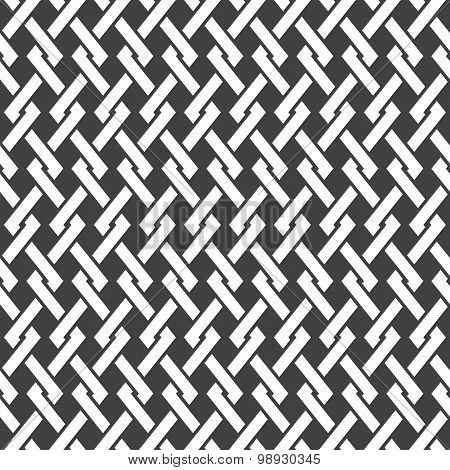 Seamless pattern of intersecting polylines