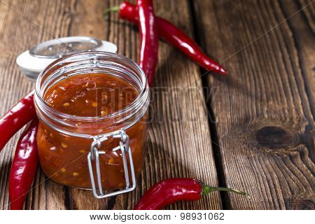 Fresh Made Chili Sauce (sambal Oelek)