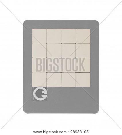 Old Puzzle Slide Game