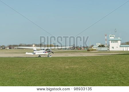 Plane At The Airport