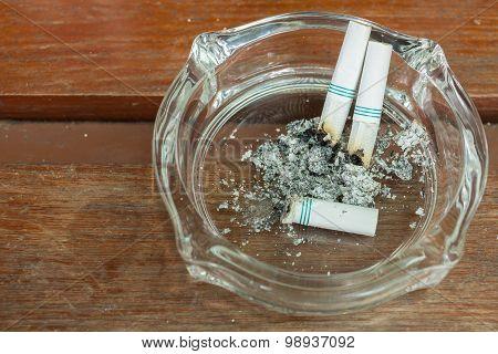 Smoking And Ashtray