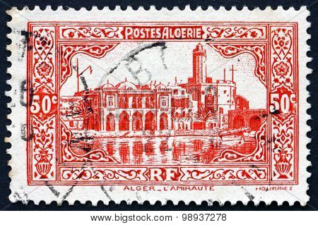 Postage Stamp Algeria 1936 Admiralty Building, Algiers