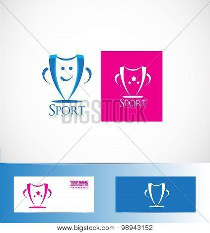 Winner Sport Cup Trophy Logo