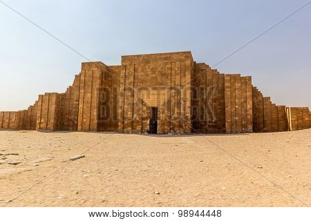 Djoser Tomb Main Entrance