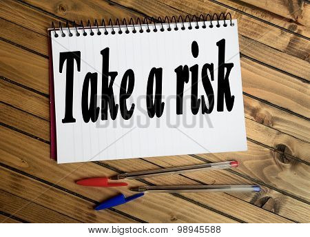 Take A Risk Word