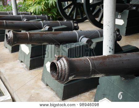 Thai Antique Cannon 4
