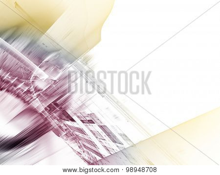 Abstract technology background. Detailed computer graphic.