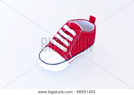 Red Baby Shoe