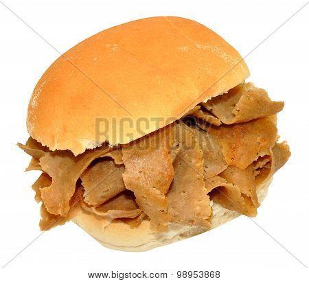 Doner Kebab Meat Sandwich