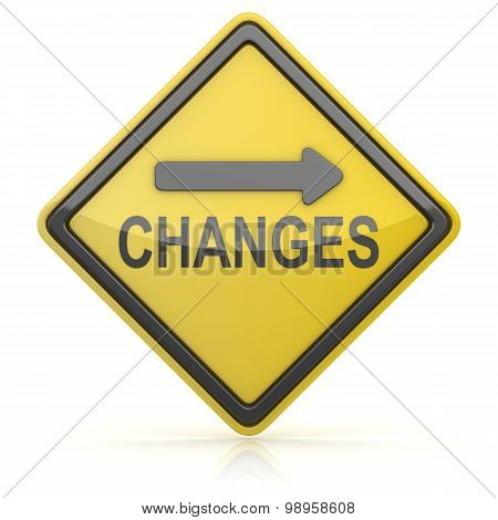 Road Sign - Changes Ahead
