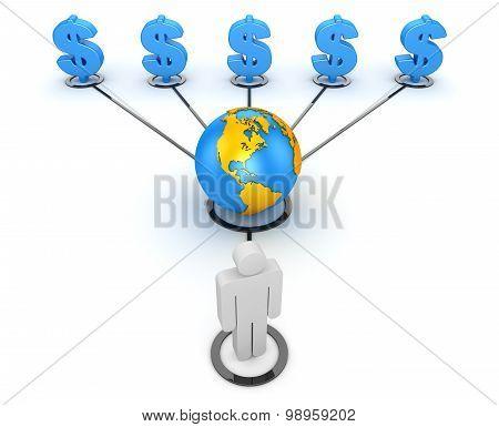 Making Money Concept