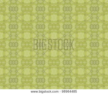 Seamless ellipses pattern green