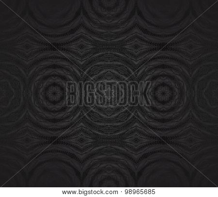 Seamless circles pattern black gray