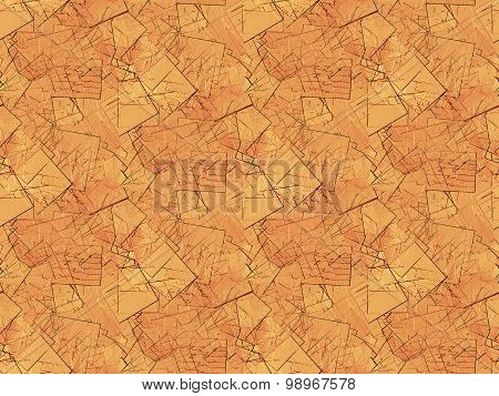 Seamless pattern fragments brown