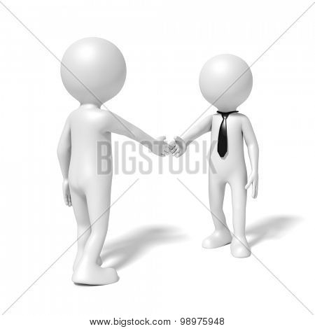 An image of a business people shaking hands