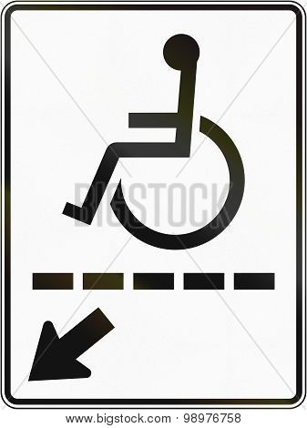 Disabled Path In Canada