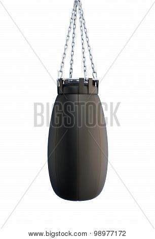 Boxing Pear Hanging On A Chain