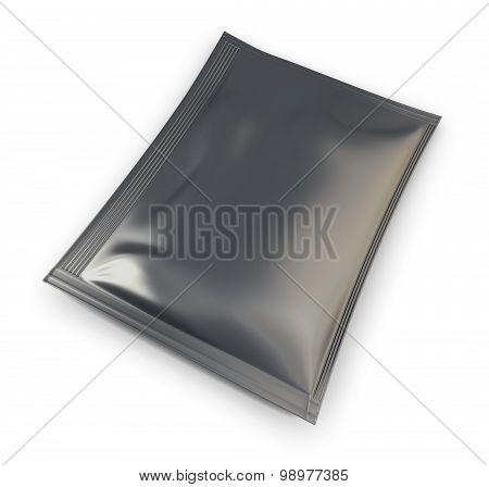 Black Packaging For Tea, Sugar, Coffee