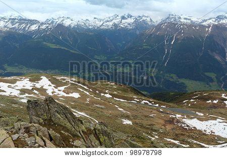 Mountain Bettmeralp Summer View(switzerland)