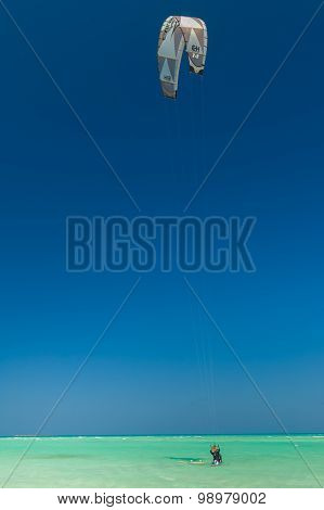 Varadero Beach Kite Surfer
